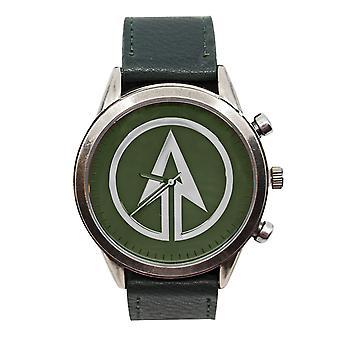 Vihreä nuoli symboli katsella säädettävä hihna