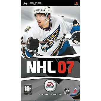 NHL 07 (PSP)-fabriken förseglad