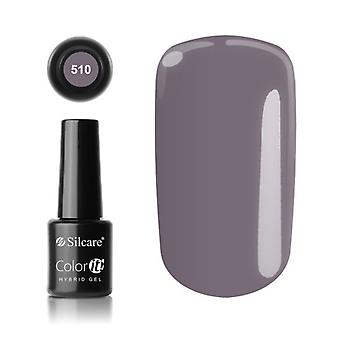 Gel polonês-Color IT-* 510 8g gel UV / LED