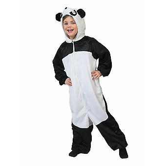 Panda Costume per bambini Concappucciato Orso Panda Orso Costume Bambini Carnevale Costume Animale