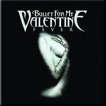 Bullet For My Valentine Fridge Magnet Fever band logo new Official 76mm x 76mm