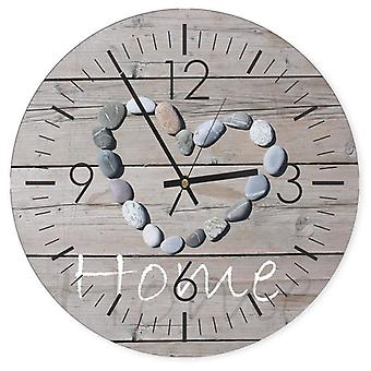 Decorative Clock With Picture, Home