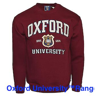Ou201 unisex licensed oxford university™ sweatshirt maroon