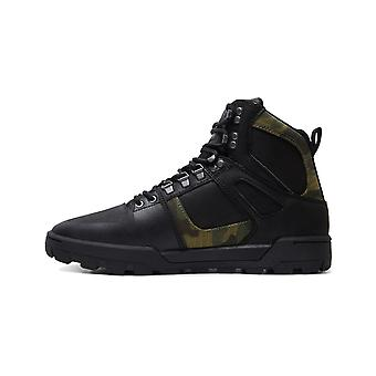 DC Pure WNT Trainers in Black/Camo