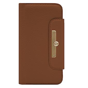 Marvêlle iPhone XR Magnetic Case & Wallet Light Brown Chic
