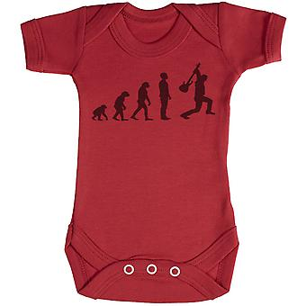 Evolution To A Rockstar - Baby Bodysuit