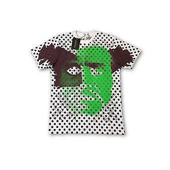 Aon Black Limited Edition T-Shirt in white with spots