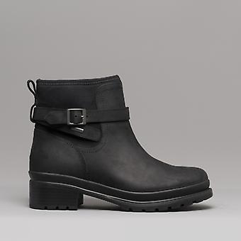Muck Boots Liberty Naisten vedenpitävä nahka Chelsea saappaat musta