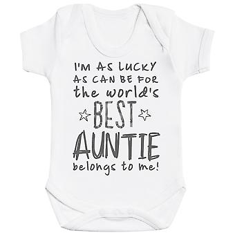 I'm As Lucky As Can Be Best Auntie gehört mir! Baby Body