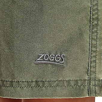 Zoggs Mosman Boy's Swim Shorts in Blue Chlorine Proof with Drawstring Waist