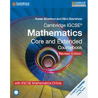 Cambridge IGCSE R Mathematics Core and Extended Coursebook by Karen Morrison