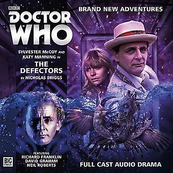 The Defectors by Nicholas Briggs & Read by Sylvester McCoy & Illustrated by Tom Webster