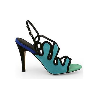 Arnaldo Toscani - Shoes - Sandal - 1218025_VERDE-BLU - Women - green,blue - EU 37