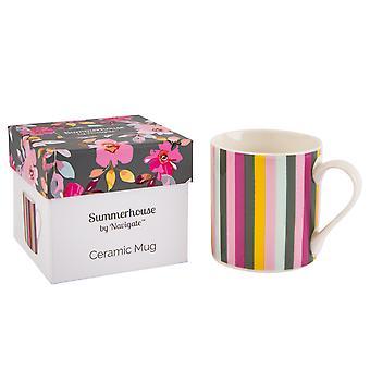 Navigate Gardenia Mug, Stripe