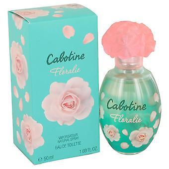 Cabotine rosalie eau de toilette spray by parfums gres 538198 50 ml