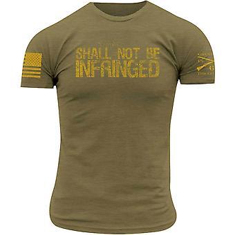 Grunt-tyyliä ei saa rikkoa T-paita-Olive Green