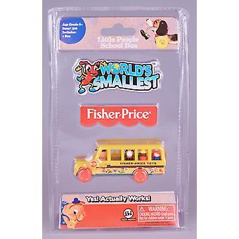 Verdens minste Fisher Price buss USA importere
