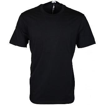 Versace Versus Bu90432 Plain Black Extra Long T-shirt