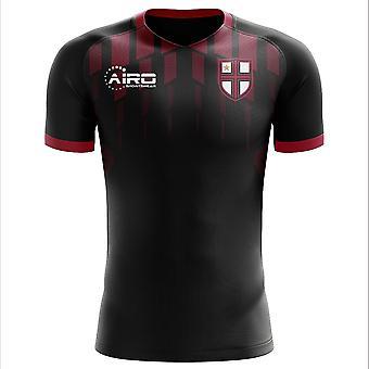 2020-2021 Milano Ennen ottelua Concept Jalkapallopaita - Adult Long Sleeve