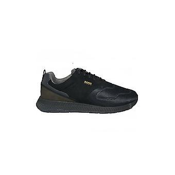 Hugo Boss Footwear Hugo Boss Mens Black Titanium Runn Act2