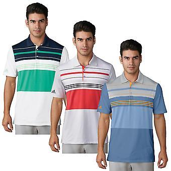 adidas Golf Herren 2020 Ultimate365 Block Feuchtigkeit Wicking Polo Shirt