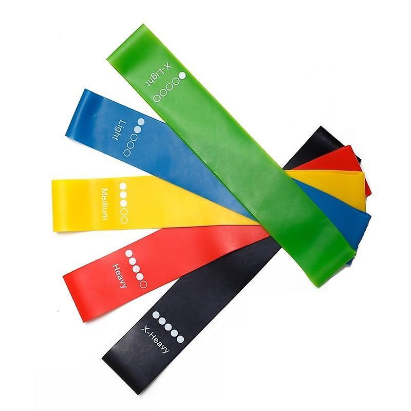Yoga Resistance Rubber Bands Indoor Outdoor Fitness Equipment