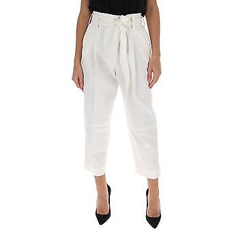 3.1 Phillip Lim E2015069cnsan110 Women's White Cotton Pants