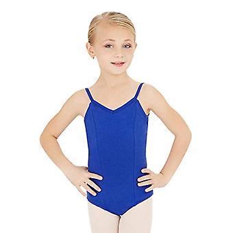 Capezio Big Girls' Classics Princess, Royal Blue, Size Intermediate (6-6X)