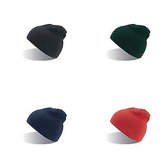 Absolute Apparel Adults Cap Knitted Ski Hat Without Turn Up