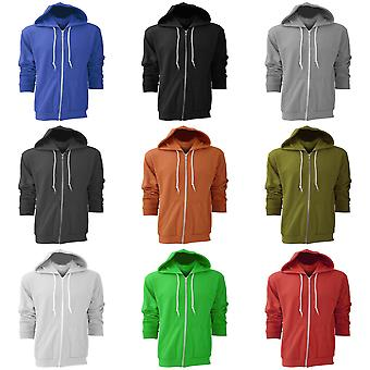 Anvil Mens Full Zip Hooded Sweat / Hoodie