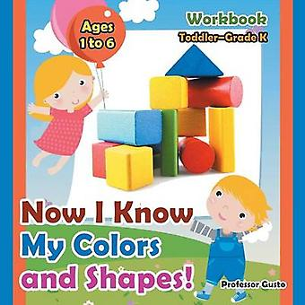 Now I Know My Colors and Shapes Workbook   ToddlerGrade K  Ages 1 to 6 by Gusto & Professor