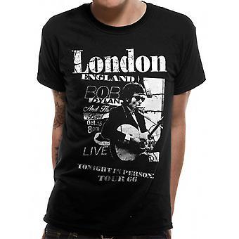 Bob Dylan-elää Lontoossa T-paidassa