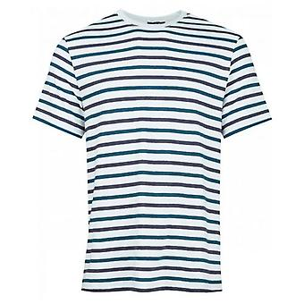 Apc Miro Striped Crew Neck T-Shirt
