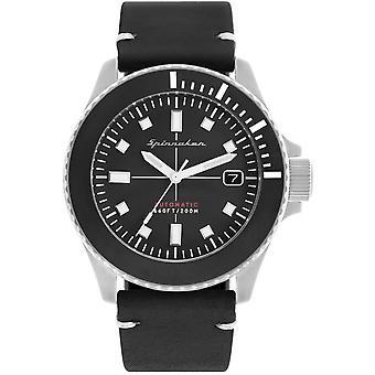 Spinnaker SP-5063-01 Gent's Spence Black Dial Wristwatch