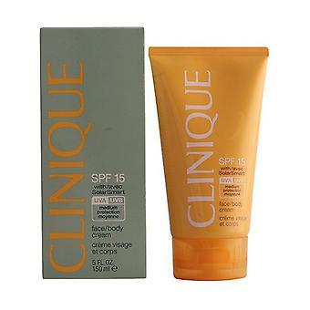 Sun lotion zon Facebody Clinique SPF 15 (150 ml)