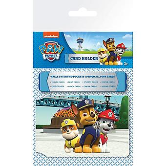 Paw Patrol Trio Card Holder