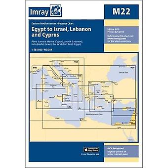 Imray Chart M22 - Egypt to Israel - Lebanon and Cyprus by Imray - 9781