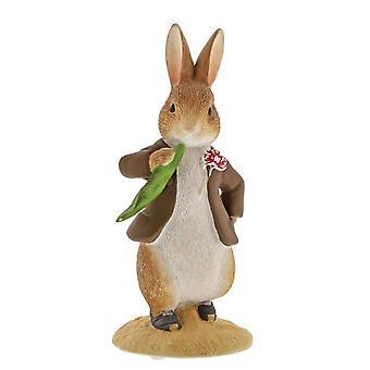 Beatrix Potter Benjamin Bunny Ate a Leaf Mini Figurine