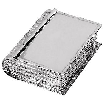 Orton West Book Pill Box - Silver