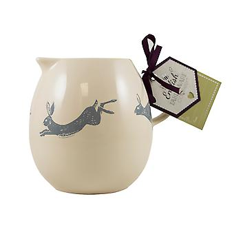 English Tableware Co. Artisan Milk Jug, Hare