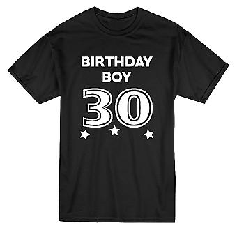 Birthday Boy 30 dreißig Grafik Herren T-shirt