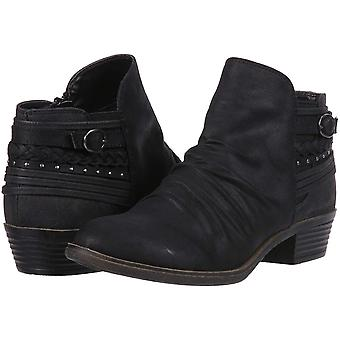 Sugar Tali Women's Casual Trendy Low Heel Scrunch Ankle Bootie with Back Stra...