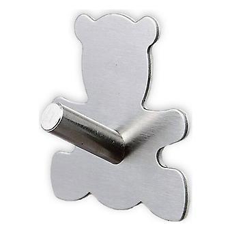 Stick-on Hanger Bear Confortime Stainless steel