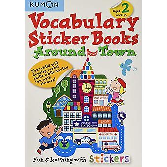 Vocabulary Sticker Books - Around Town by Publishing Kumon - 978194108