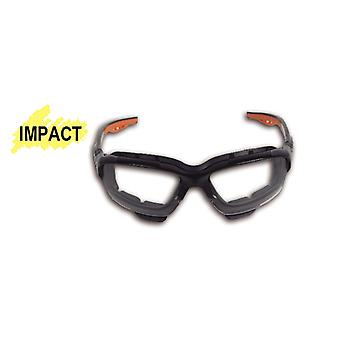 Beta 070930009 7093 BC Safety Glasses With Clear Polycarbonate Lenses