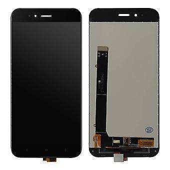 Komplet blok til Xiaomi mi a1: LCD-skærm + original berøringsskærm-sort