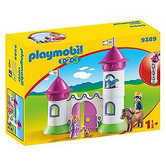 Playset Castle With Stackable Tower 1.2.3 Playmobil 9389