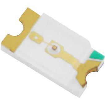 HuiYuan 1206W2C-KHC-B SMD LED 1206 White 460 mcd 120 ° 25 mA 3.2 V