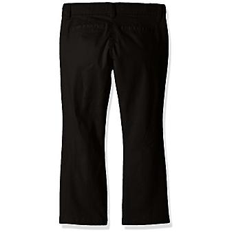 The Children's Place Big Girls' Uniform Pants, Black 43302, 8