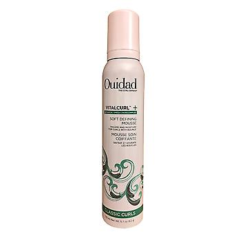 Ouidad VitaCurl Plus Soft Defining Mousse Curly & Frizzy Hair 5.7 OZ